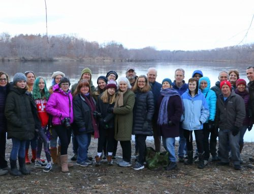 Crow Patrol: 25 people from Merrimack River Watershed Council!